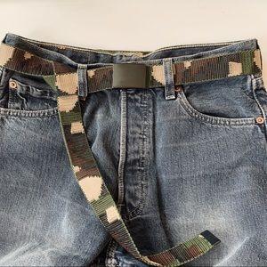 Urban Outfitters • Surplus Camo Belt